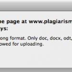PlagiarismDetect can not process PDF- and ZIP-files